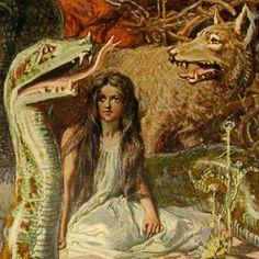 Hel, goddess of death, daughter of Loki and the giantess Angurboda.