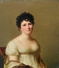 Firmin Massot, Portrait of Mrs Jean-Conrad Hottinguer, born Martha Elisa Redwood (1774-1830)