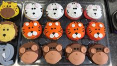 Custom Cupcakes, Cupcake Toppers, Desserts, Food, Personalised Cupcakes, Tailgate Desserts, Deserts, Essen, Postres