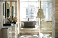 Atlanta Penthouse of Matthew Quinn and Ric Parrish   styled by Clinton Smith   photo by Mali Azima   as seen in Atlanta Homes and Lifestyles