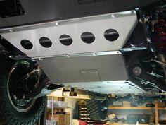 Shrockworks 4th Gen 4Runner Skid Plate Package, 2003-2009