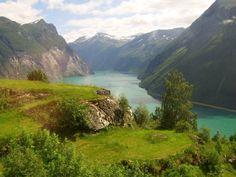 #Geiranger #Fjord