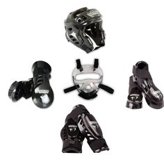 Macho Warrior 8 piece sparring gear set with Shin and FaceShield. Double layers of foam make Warrior one of our signature lines for its extra shock absorption and protection.  Set will include Macho Warrior Kicks, Gloves,Shin and Head Gear w/ Face Shield Available in White,Metalic Blue, Red, Black or Pink Sizes child s, m, l, adult S, M, L or XL.  Note:  Head does not come in XXL so the XXL set will be the XL head with the XXL foot and gloves.  Note: The adult small set will have the medium…