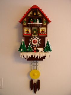 LEGO Cuckoo Clock by Bill Vollbrecht