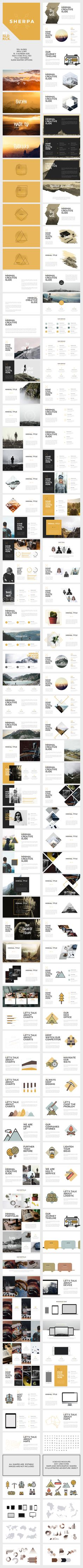 SHERPA - Hipster Powerpoint Presentation Template. Download here: http://graphicriver.net/item/sherpa-hipster-powerpoint-presentation/15721262?ref=ksioks                                                                                                                                                                                 More
