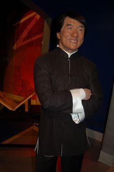 Jackie Chan - Madame Tussauds Wax museum, Hollywood