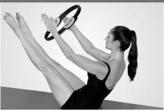 'Teaser', Pilates pose
