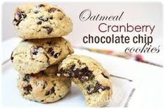 Gluten-Free Oatmeal Cranberry Chocolate Chip Cookies. By: Festivus by Shelley