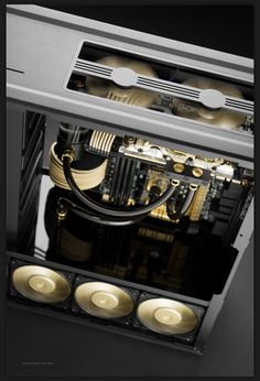 Love this case mod, especially love what they have done to the top air vent! #pcmod #gamingpc #custompc