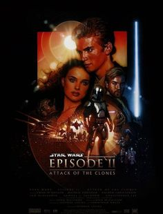 Sta Wars: Episode II - Attack of the Clones - (2002) - George Lucas. Star Wars: Episodio II - L'attacco dei cloni.   (USA).