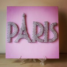 Eiffel Tower Paris String Art