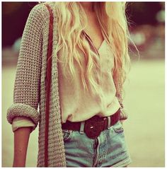 Completely comfy and casual<3
