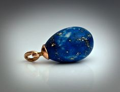 Lapis Lazuli Ring | ... Antique Russian Gold Mounted Carved Siberian Lapis LazuliEgg Pendant