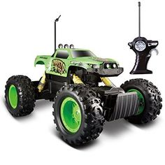 #Remote #Control Tri-Band Off-Road Rock Crawler Monster #Truck Green  Full review at: http://toptenmusthave.com/best-rc-cars/