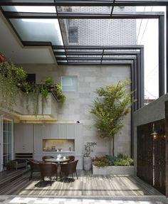 jardin et conservatoire moderne