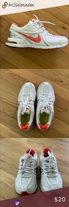 Nike tennis shoes Nike tennis shoes Nike Shoes Athletic Shoes<br> Nike Tennis Shoes, Plus Fashion, Fashion Tips, Fashion Trends, White Nikes, Athletic Shoes, Nike Women, Sneakers, Things To Sell