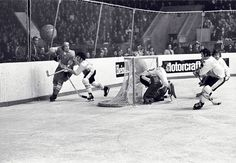 1972 Summit Series with netting instead of glass Canada Cup, Summit Series, Stanley Cup, Olympics, Hockey, World, Classic, Sports, Derby