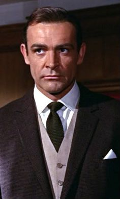 James Bond's woven tie