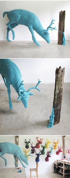 Rachel Denny - unusual and beautiful knit creations