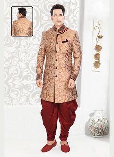 Wedding Mens Readymade Indian Sherwani Ethnic Dress Indostyle Designer Bollywood #TanishiFashion