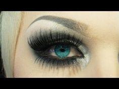 How to apply fake eyelashes - YouTube