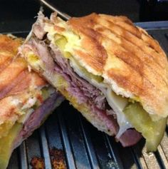 Cubanos from the Chef Movie - Choi slathers his pork with mojo, a classic Cuban marinade of garlic, citrus and herbs.