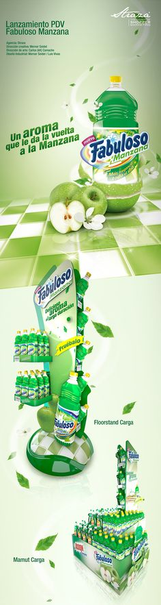 Fabuloso Manzana on Behance