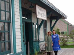 Anne and Diana at Avonlea Village