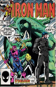 Iron Man 193 April 1985 Issue  Marvel Comics  Grade by ViewObscura