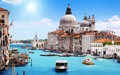 Venice is a small city in the northeast part of Italy. Description from vacationadvice101.com. I searched for this on bing.com/images