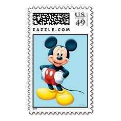 Mickey Mouse 6 Postage