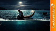 Escape at night - Speed art ( #Photoshop ) | CreativeStation