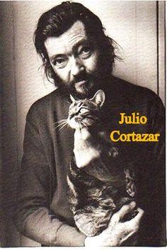 Julio Cortazar y un.....gatoooooooo