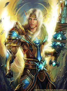 World of Warcraft Blood Elf / Monde de Warcraft elfe de sang