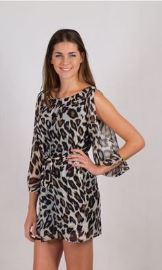 Spicy Sugar Cheetah Dress. $39    You can't go wrong with this cheetah printed kaftan dress. It is an elegant and feminine style with split sleeve detail and a flowing skirt