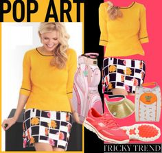 Ladies Tricky Trend: Pop Art In Golf Fashion at #lorisgolfshoppe