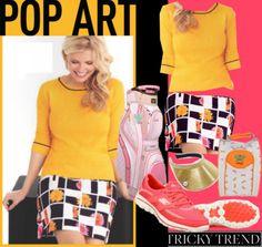 Ladies Tricky Trend: Pop Art In Golf Fashion at #lorisgolfshoppe