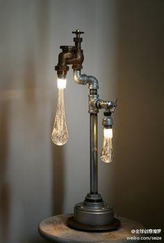 Water is light #design #lamp
