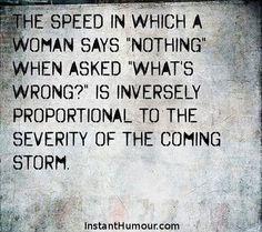 Secret about women...