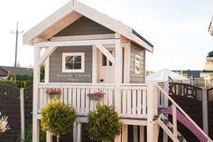 Jak Zbudować Domek dla Dziecka // How to Build the Kids Garden House - Dla dzieci - Dekoracja Cubby Houses, Fairy Houses, Play Houses, Backyard Swings, Backyard For Kids, Kids House Garden, Home And Garden, Garden Planning, My Dream Home