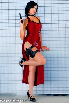 Buy Resident Evil - Ada Wong at Wish - Shopping Made Fun Cosplay Outfits, Cosplay Girls, Cosplay Costumes, Amazing Cosplay, Best Cosplay, Resident Evil Cosplay, Ada Wong, Marvel, Halloween Cosplay