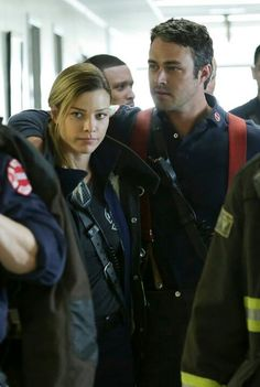 Chicago Fire shay and Kelly