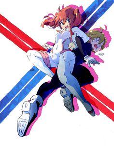 By Franziska van Wulfen (Darling in the Franxx) Manga Anime, A Silent Voice, Zero Two, Ecchi, Darling In The Franxx, Animes Wallpapers, Wallpaper Wallpapers, Anime Artwork, Anime Couples