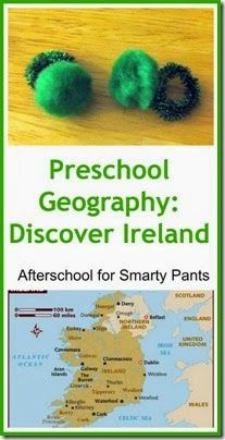 Learn about Ireland for St Patrick's Day Through Books and Crafts from www.planetsmarty.com