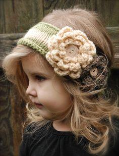 Cute headband......  would look adorable