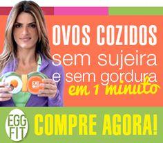 Eggfit por Carol Magalhães - Forma de silicone para fazer ovos no microondas