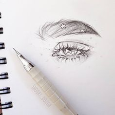 Experimental thing, I never draw eyes close up or detailed so I wanted to give it a try 😌 Pencil Art Drawings, Art Drawings Sketches, Cool Drawings, Eye Drawings, Sketch Art, Sketches Of Eyes, Eye Sketch, Pencil Sketching, Unique Drawings