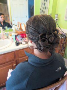 Prom hair idea, darling updo!