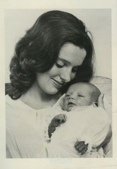 Margaret Trudeau gave birth to son Justin in January when Pierre Elliott was Prime Minister of Canada.