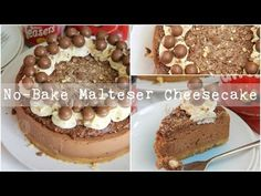 No-Bake Chocolate Malteser Cheesecake! - Jane's Patisserie